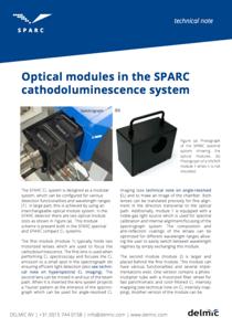 Sparc optical modules