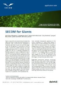 SECOM for giant virus