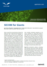 SECOM for giant virus