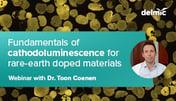 Thumbnail Webinar Rare-earth materials cathodoluminescence