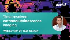 Thumbnail Webinar Time-resolved CL cathodoluminescence