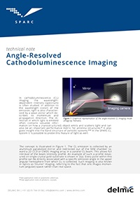 sparc angle-resolved cathodoluminescence imaging application note