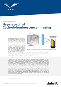 sparc hyperspectral cathodoluminescence imaging