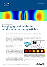 Sparc application note imaging optical modes in semiconductor nanoparticles